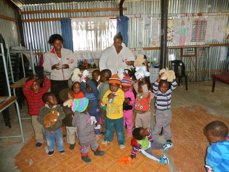 kinderen in de creche
