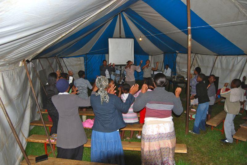 Evangelisatie tent