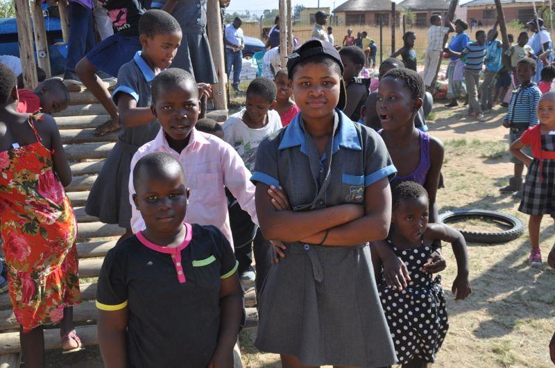 kinderen in Madadeni