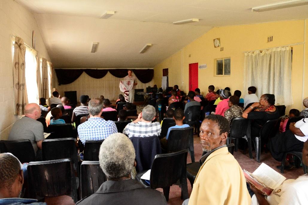 kerkdienst zuid afrika