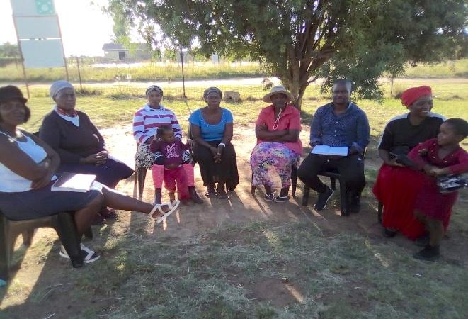 evangelische openlucht bijeenkomst zuid afrika