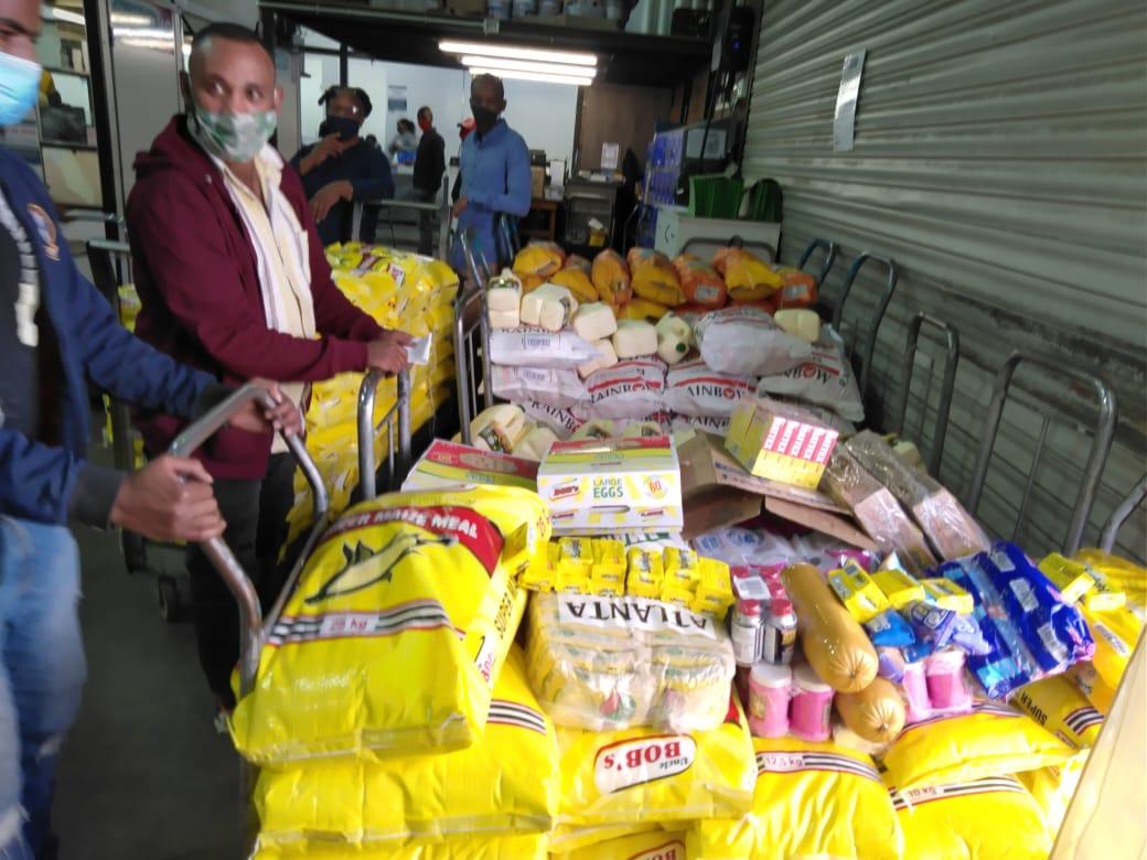 inkoop voedselpakketten
